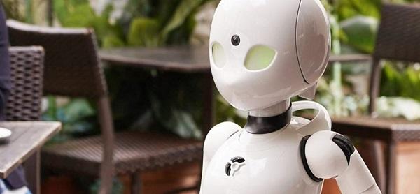 Gerçek Zekâlı Robot Cafe