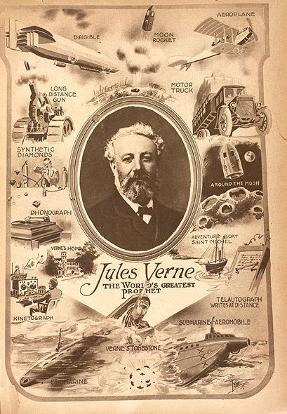 Jules Verne'in Hayal Gücü