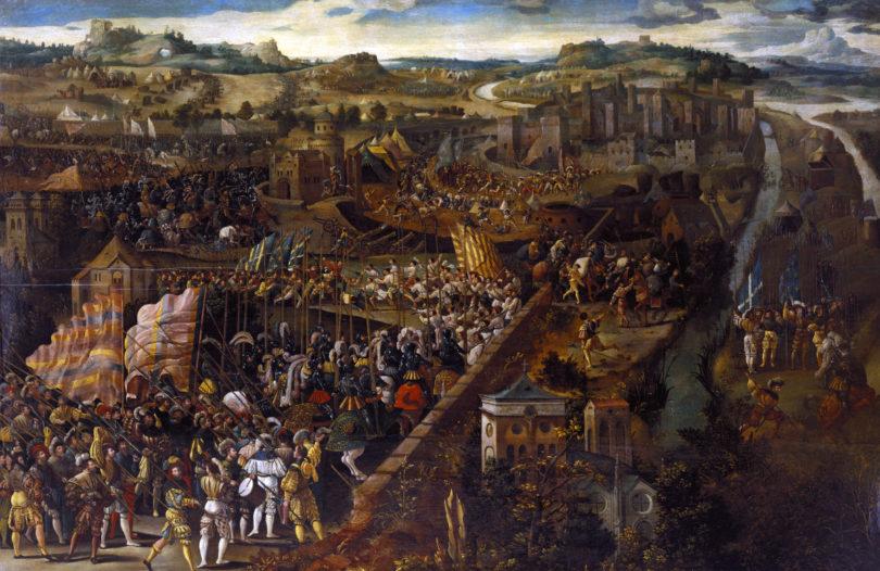 François I, Pavia'da