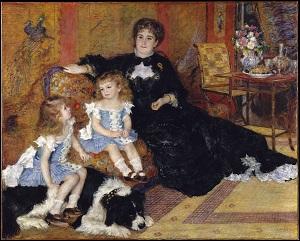 Madame Charpentier et ses enfants (Metropolitan Museum of Art, 1876 - 1877)