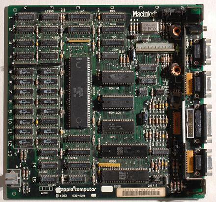 Macintosh motherboard